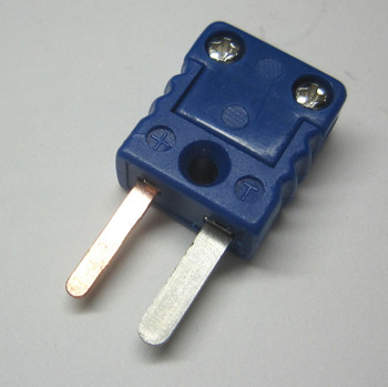 Miniature Mini T-Type Thermocouple Connector Plug Male