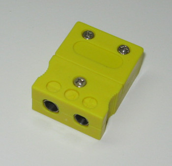 standard K-type female connector plug