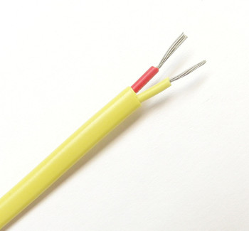 AWG 24 K-Type Thermocouple Stranded Wire PVC Insulation 220 Yard