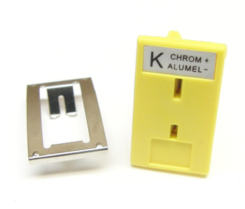 Panel Mount Socket for Mini K-type Thermocouple Connector vB