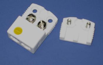 Ultra High Temperature Ceramic Mini K-Type Thermocouple Connector Female Plug