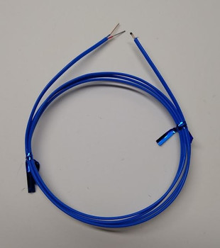 T-type thermocouple AWG24 with Teflon PFA insulation 2ft with bare end