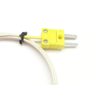 PK-700 with miniature K-type thermocouple connector