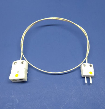 High Temperature K-type Thermocouple Adapter Ceramic Standard to Mini Connector