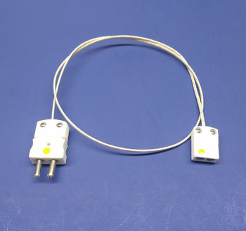 High Temperature K-type Thermocouple Adapter Ceramic Mini to Standard Connector