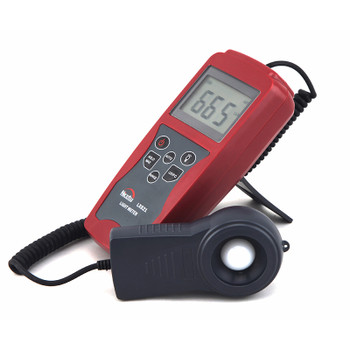 Professional Digital Light Meter LX821 for Greenhouse, Hydroponics