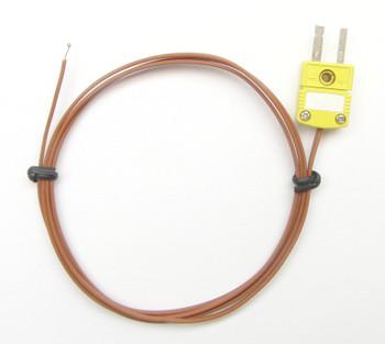 K-type thermocouple PK-1 with PFA Plastic Insulation