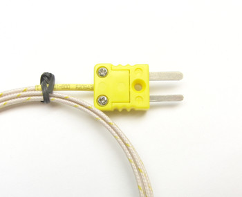 Mini K-type thermocouple connetor on the PK-400 K-type thermocouple