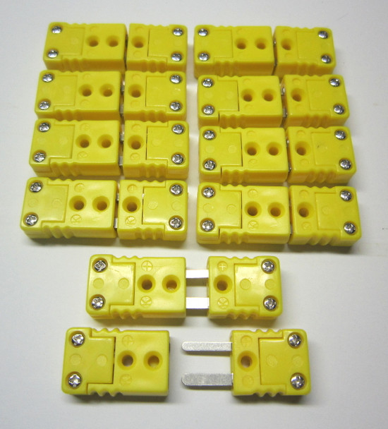 10 sets of mini k-type thermocouple connetor