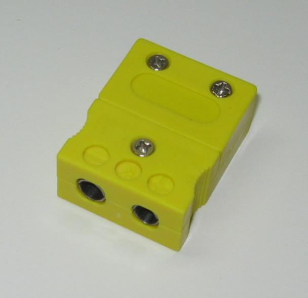 standard K-type female connector plug