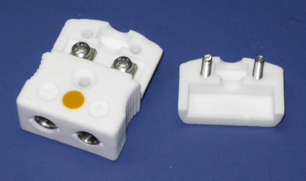 Ultra High Temperature Ceramic Standard Size  K-Type Thermocouple Connector Set