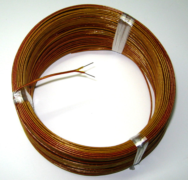 K-type thermocouple wire with high temperature Kapton insulation