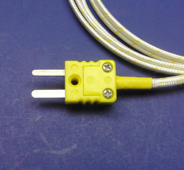 "4 inch K-type Kiln Thermocouple 3/16"" Diameter"