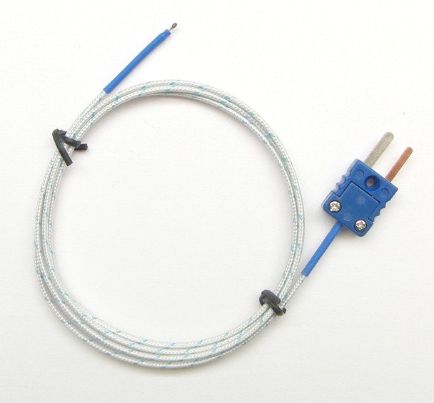 3 ft T-Type Thermocouple for Digital Thermometers  PT-400