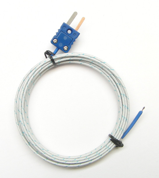 9 ft T-type Thermocouple PT-400 9ft