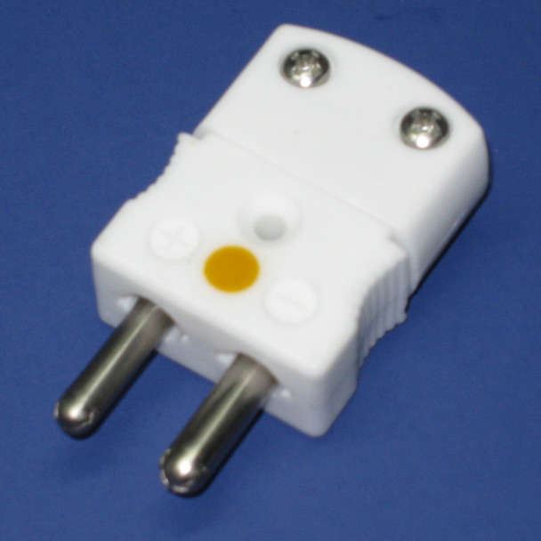 Ultra High Temperature Ceramic Standard Size  K-Type Thermocouple Connector Male