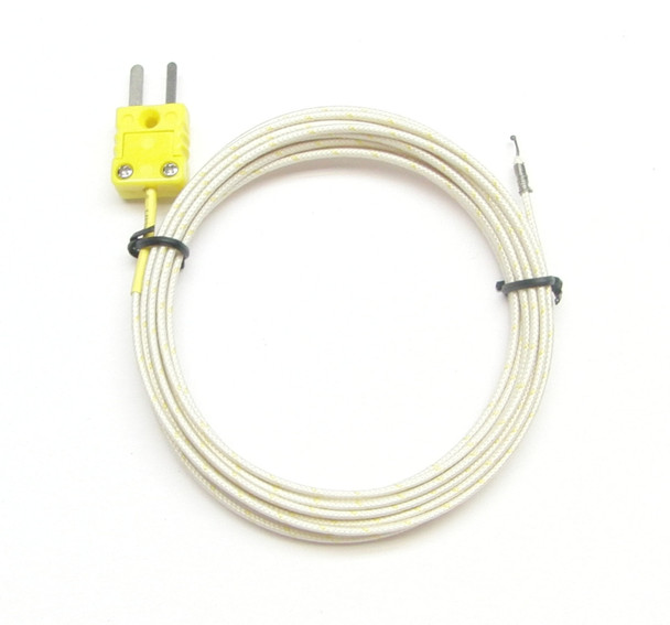 PK-700 high temperature K-type thermocouple 9 ft or 300 cm long