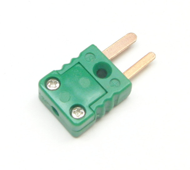 Miniature R/S type thermocouple connector, male plug