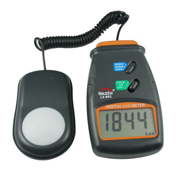 Light Meter LX801 for Hydroponics, Greenhouse, Gardening and Science Projects