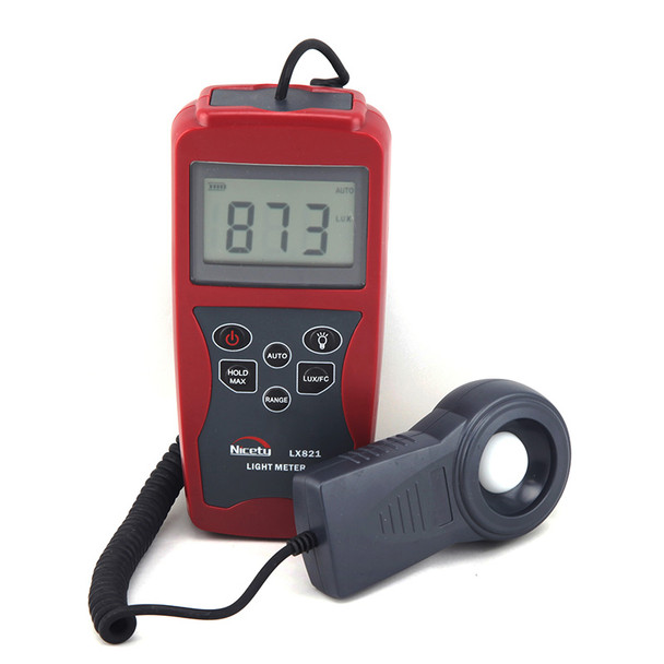 Professional Light Meter LX821 for Hydroponics, Greenhouse, Gardening