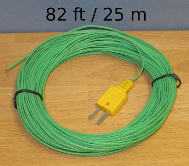 Extra Long 82ft 25m K-Type Thermocouple Wire
