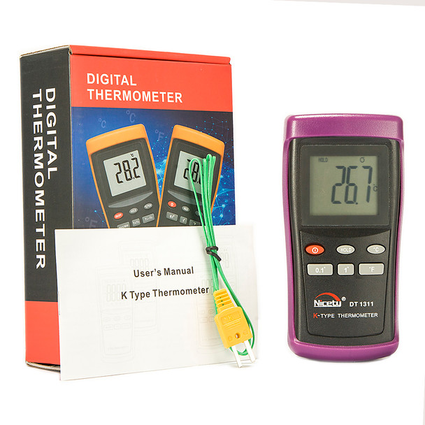 Digital K-type Thermometer DT1311