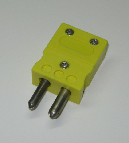 Standard Thermocouple Connector for k-type thermocouple wire, male connector