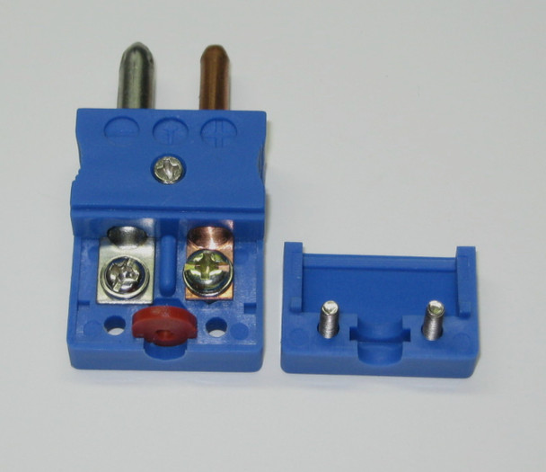 Standard Round T-Type thermocouple connector for T-type thermocouples