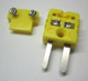 10 Sets Mini K-Type Thermocouple Connector Plug Pairs Male and Female