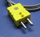 Industrial K-Type Thermocouple Extension Cable Standard Connector 3 ft