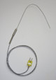 Thin 2 mm Stainless Steel K-type Thermocouple Probe 6 inch