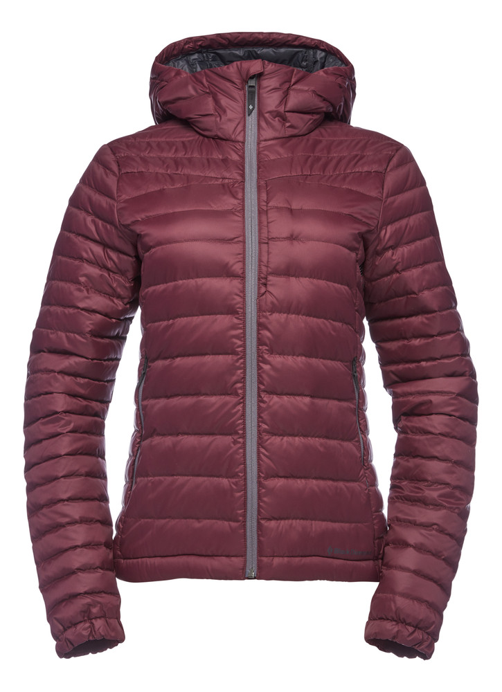 Jacket de plumas Black Diamond Access Hoody - Mujeres (Bordeaux)