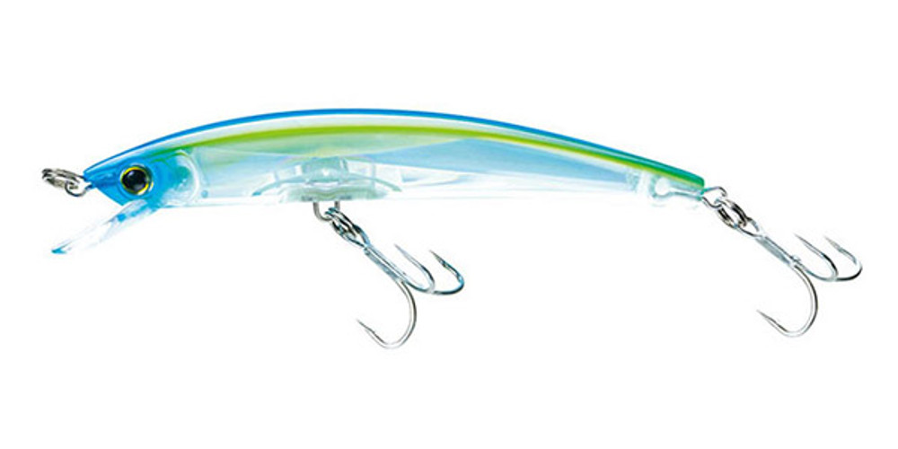 Señuelo Yo-Zuri Crystal 3D Minnow - Blue Yellow (C58)