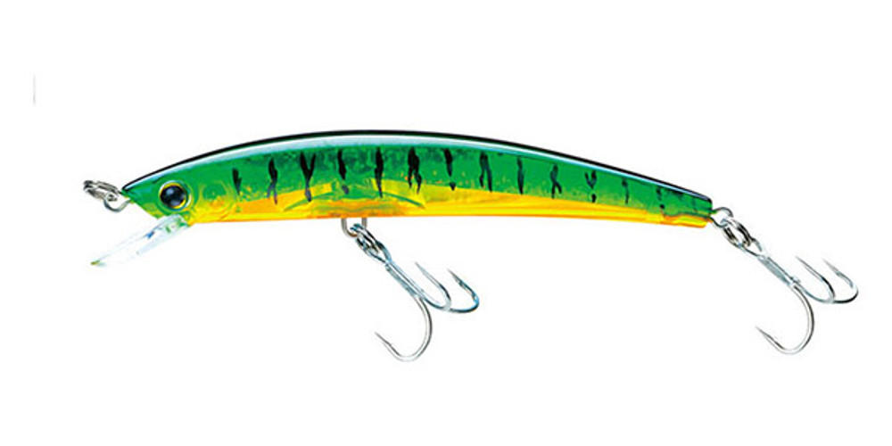 Señuelo Yo-Zuri Crystal 3D Minnow - Hot Tiger (HT)