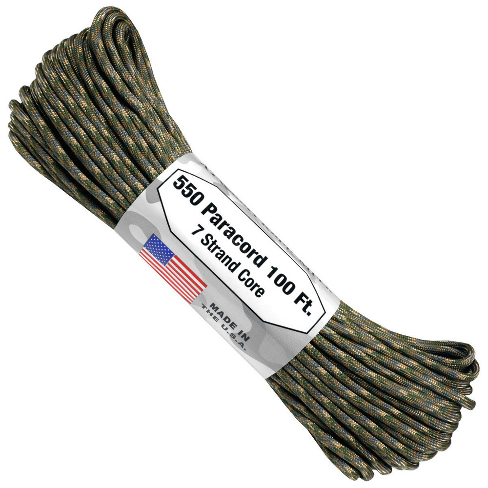 Paracord 550 Atwood Ropes - 100 ft (Multicam)