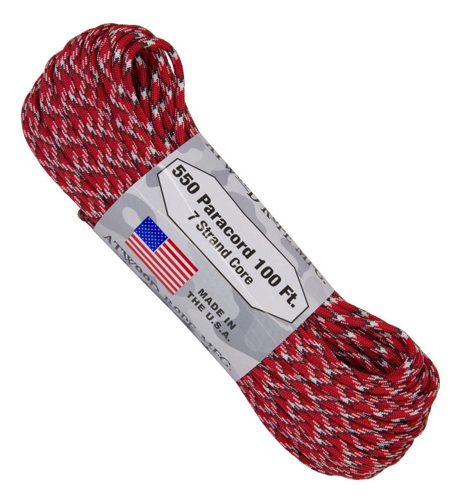 Paracord 550 Atwood Ropes - 100 ft (Reactor)