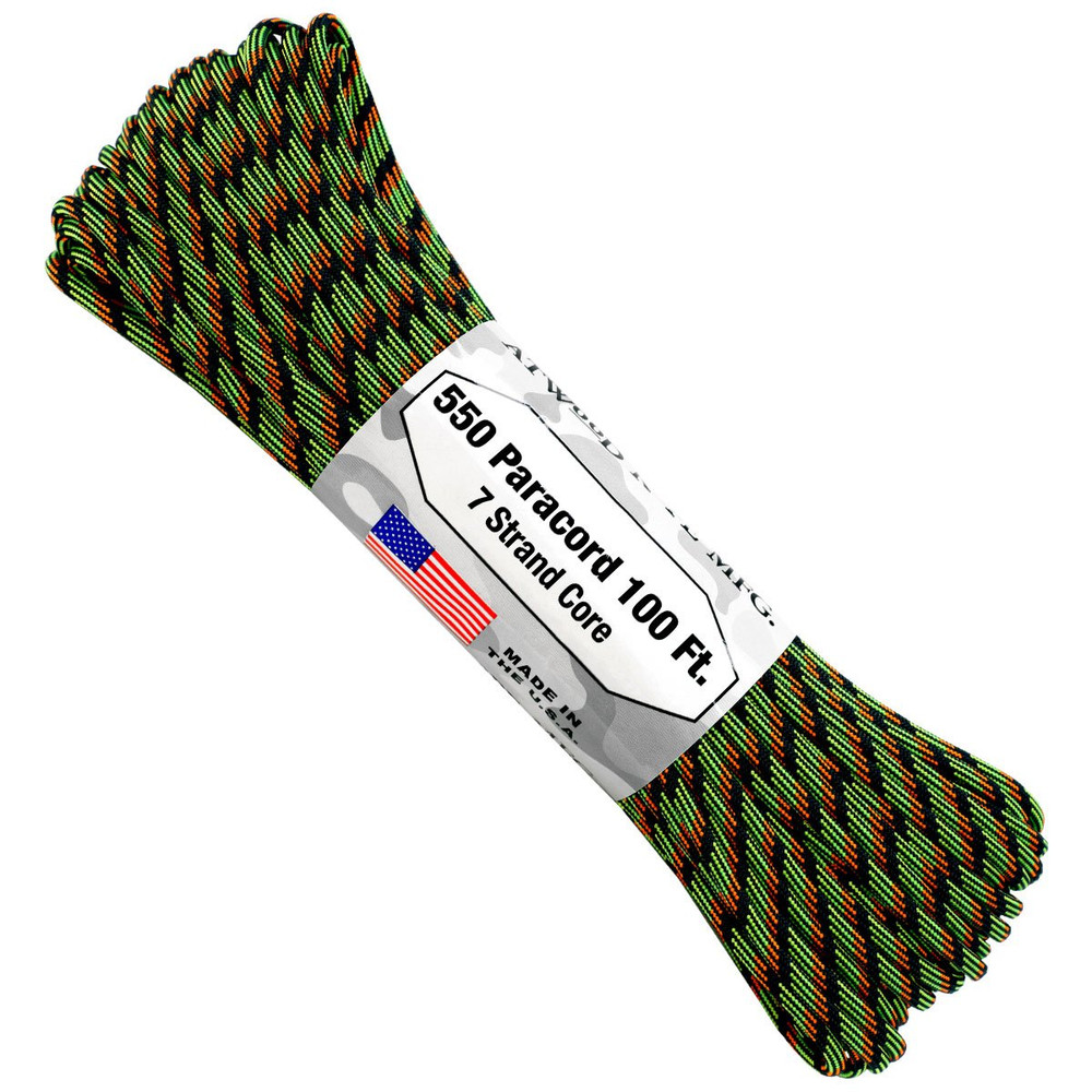 Paracord 550 Atwood Ropes - 100 ft (Ignition)
