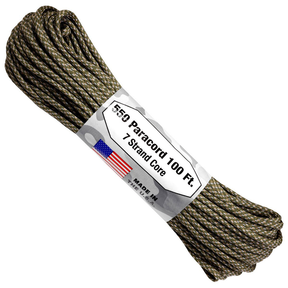 Paracord 550 Atwood Ropes - 100 ft (Digital ACU)