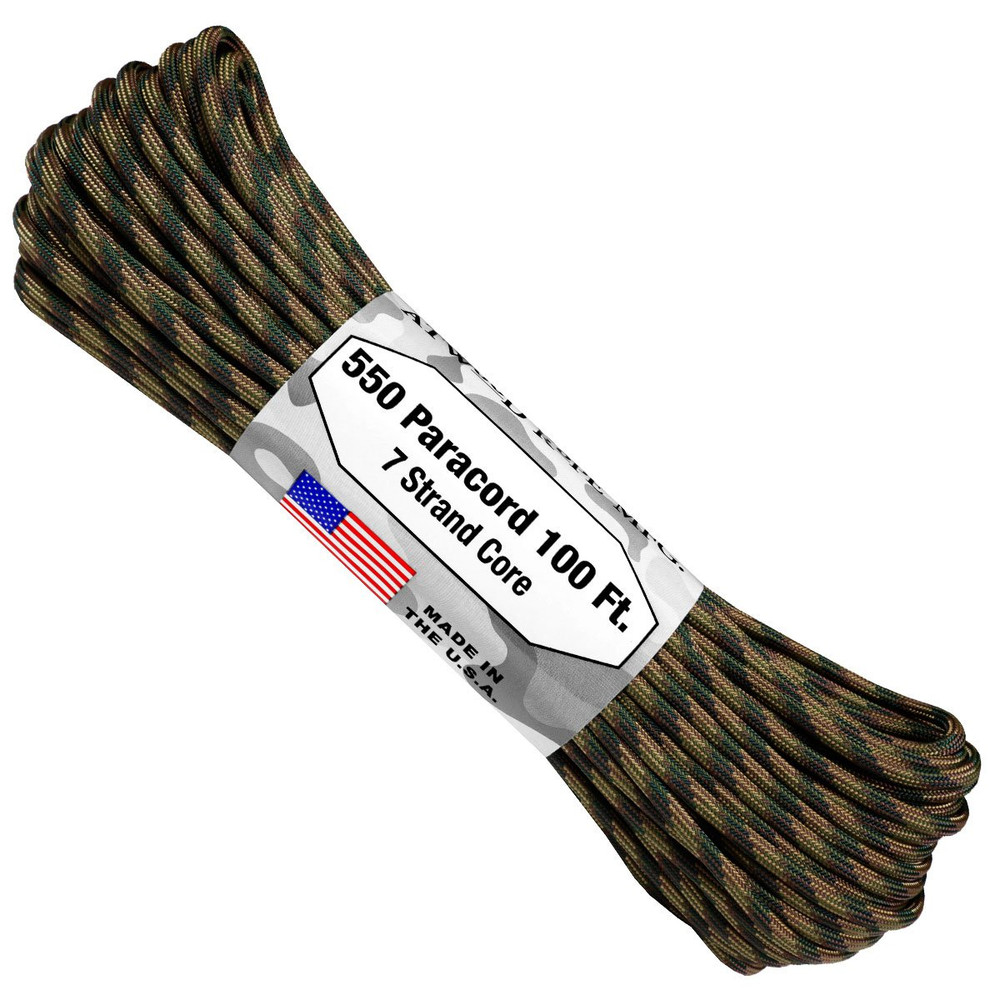 Paracord 550 Atwood Ropes - 100 ft (Recon)