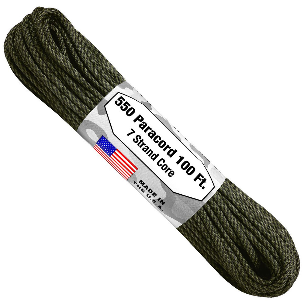 Paracord 550 Atwood Ropes - 100 ft (Comanche)
