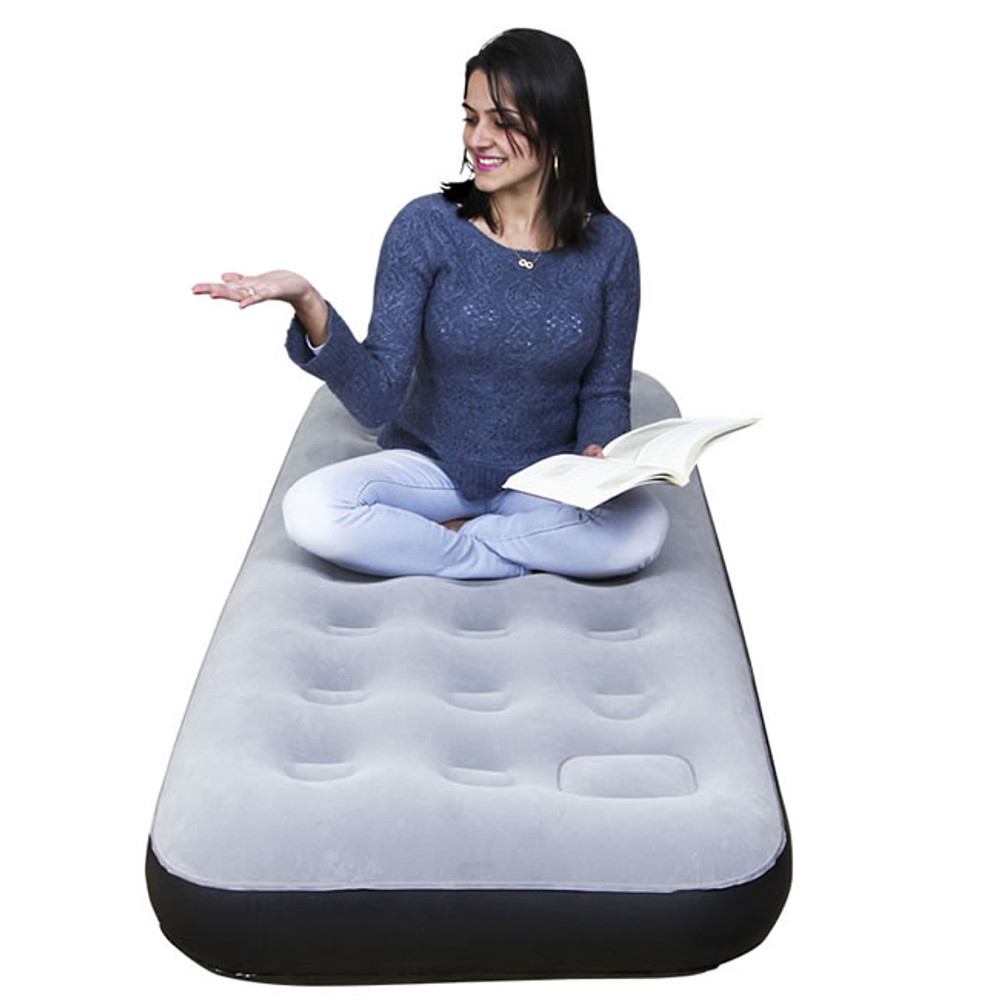 Colchón Inflable NTK Fit EcologicMat Individual - En Uso