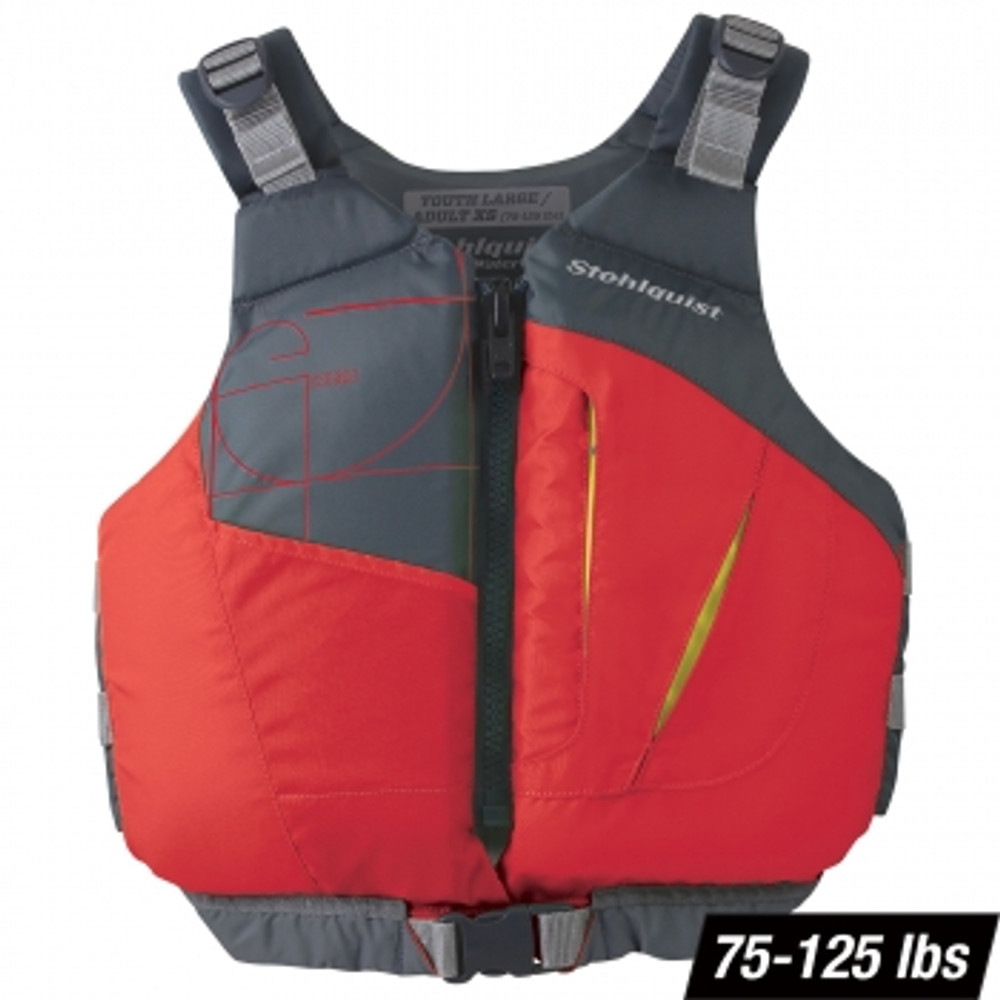 Chaleco Stohlquist Escape para Niños - Red 75-125 lbs.