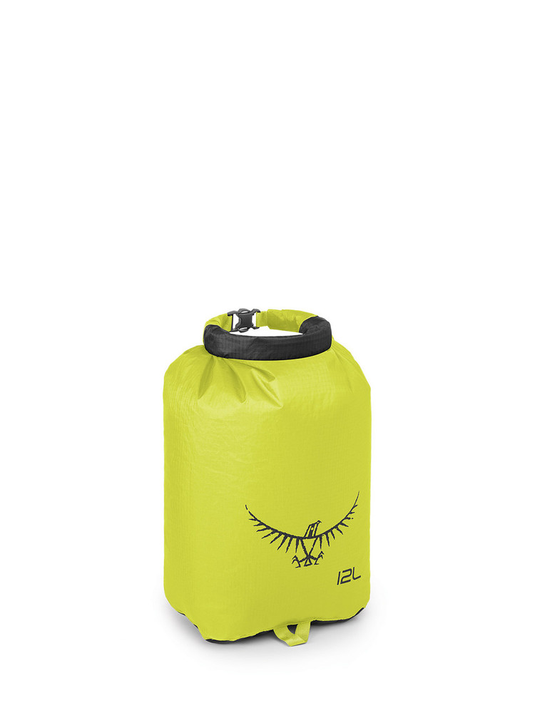 Saco Impermeable Osprey Ultralight - Electric Lime 12L