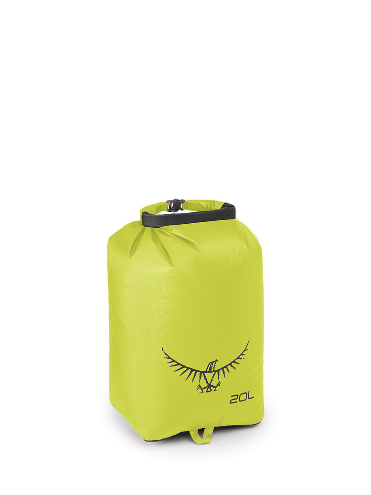 Saco Impermeable Osprey Ultralight - Electric Lime 20L