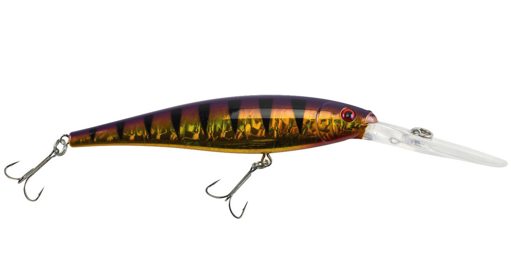 Señuelo Berkley Flicker Minnow Pro Slick - Slick Purple Bengal