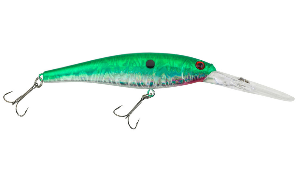 Señuelo Berkley Flicker Minnow Pro Slick - Slick Green Pearl