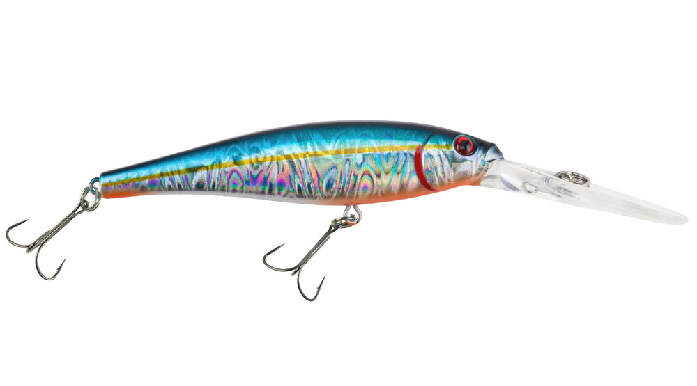 Señuelo Berkley Flicker Minnow Pro Slick - Slick Blue Alewife