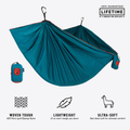 Hamaca Grand Trunk TrunkTech Single - Deep Teal/Maroon