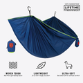 Hamaca Grand Trunk TrunkTech Single - Navy/Green