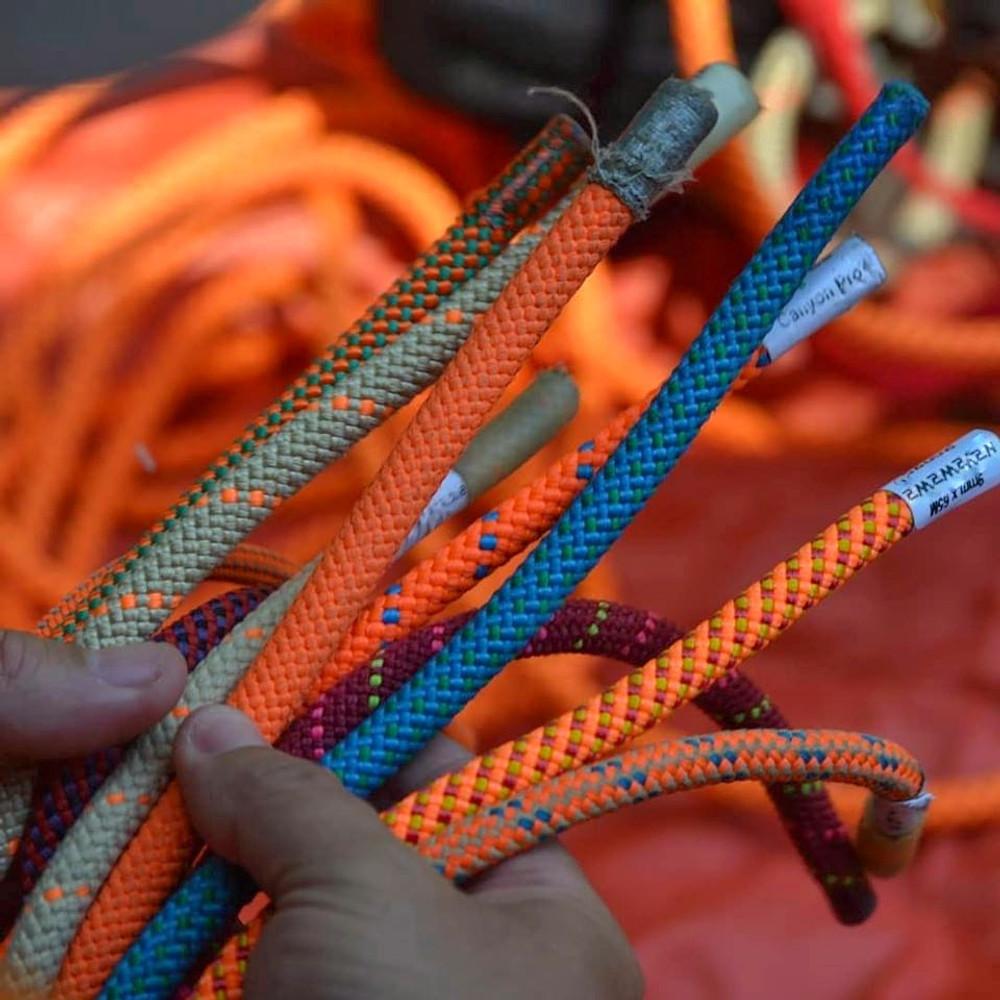 ¿Que tipo de cuerdas necesito para canyoning?